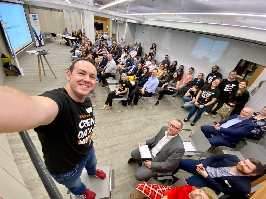 Open Data Day 2020 Selfie