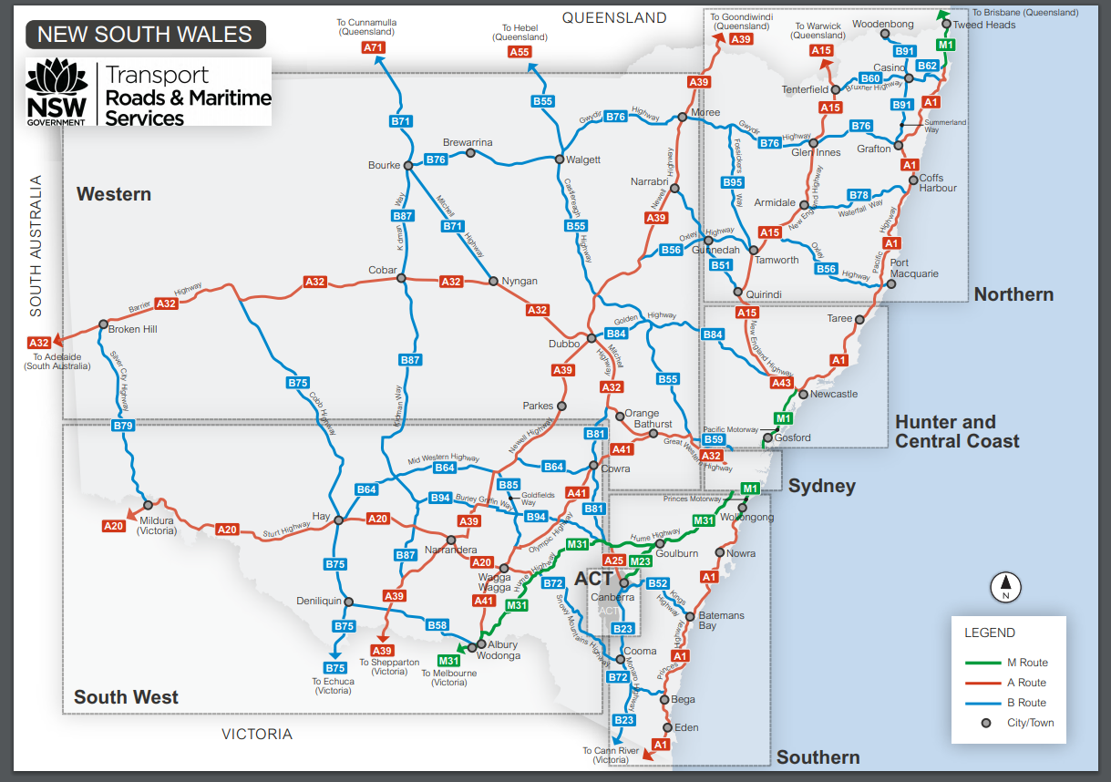 Route ID Map